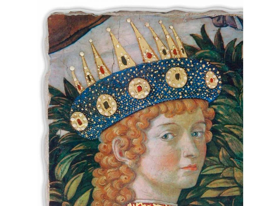 """Great Fresco Gozzoli """"De optocht van de Koningen met Koning Belshazzar"""""""