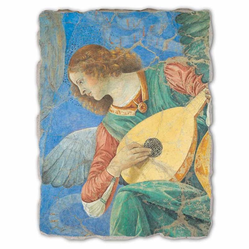 "Grote Fresco Melozzo ""Angelo Musicante"""
