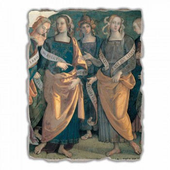 "Great Fresco Perugino ""Lord of the Angels, Profeten en Sibillen"""