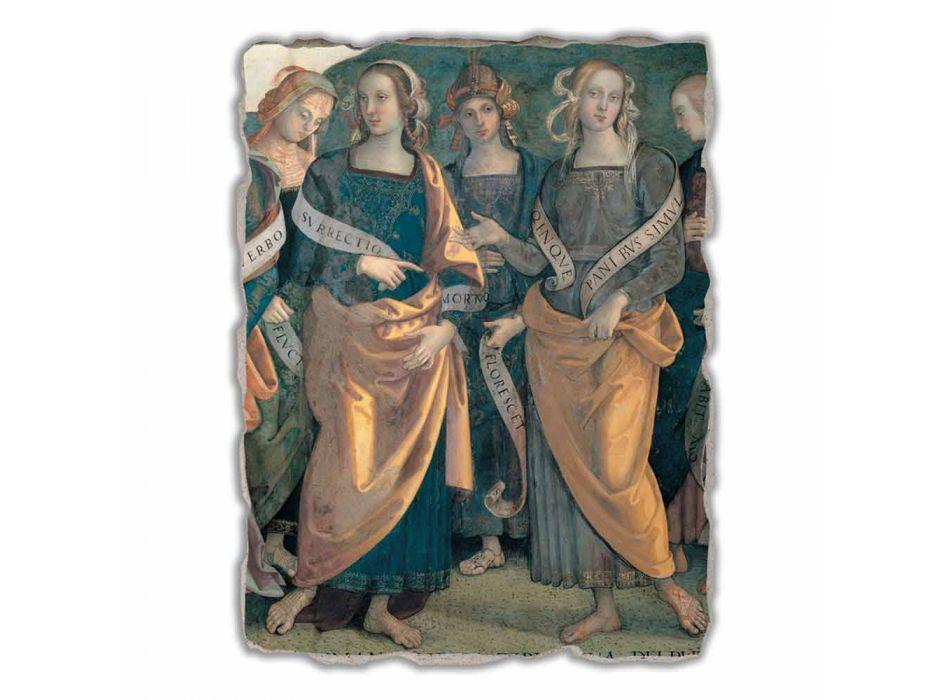 """Great Fresco Perugino """"Lord of the Angels, Profeten en Sibillen"""""""