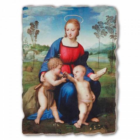 "Grote Fresco Raffaello Sanzio ""Madonna van de Distelvink"""