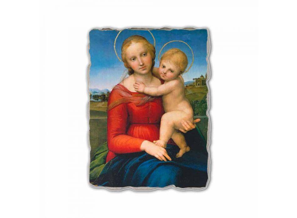 "Fresco Raffaello Sanzio ""Kleine Cowper Madonna"" in 1505"