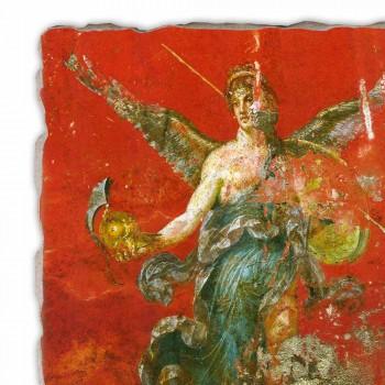 """Fresco reproductie Roman """"Cyclus van de Muzen"""" deel."""