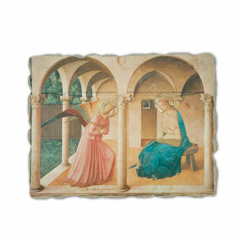 """Beato Angelico Fresco reproductie """"Aankondiging"""" handgemaakte"""