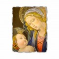 """Fresco spelen Botticelli """"Madonna van het Boek"""""""
