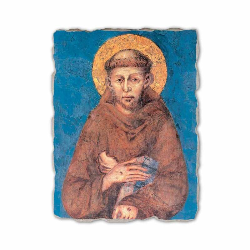 "Fresco reproductie Cimabue ""San Francesco"" XIII eeuw"