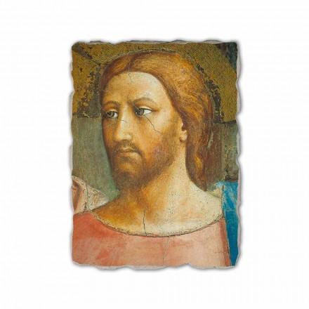 "Fresco reproductie handgemaakte Masaccio ""The hulde"""