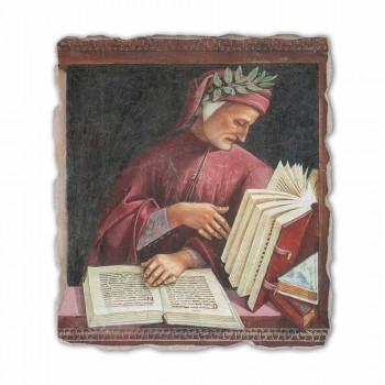 """Fresco reproductie Luca Signorelli """"Dante Alighieri"""" 1499-1502"""