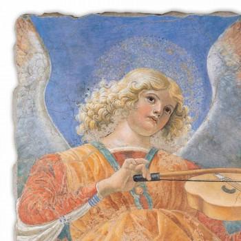 "Fresco reproductie Melozzo ""Angelo Musicante"""