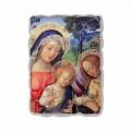 """Fresco Pinturicchio spelen """"Lieve Vrouw van Vrede"""" deel."""