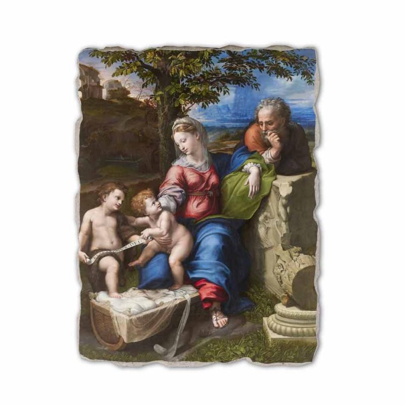 "Fresco reproductie R.Sanzio ""Heilige Familie onder de Eiken"""