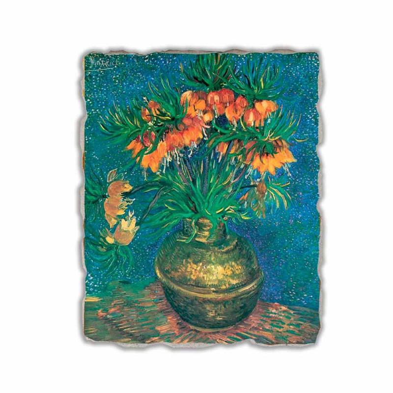 "Fresco Vincent Van Gogh ""Stilleven met Fritillaria's"" 1887"