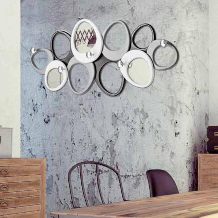 Wandkleedhanger van ontwerp Molecole by Viadurini Decor