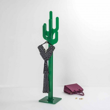 Kapstok Green Cactus modern design, made in Italy