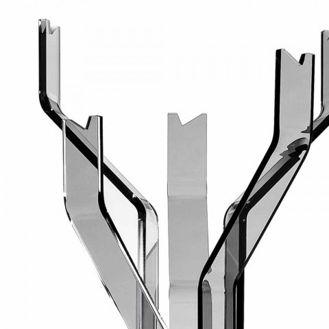 begane gerookte hanger haken 5 Andrea, modern design