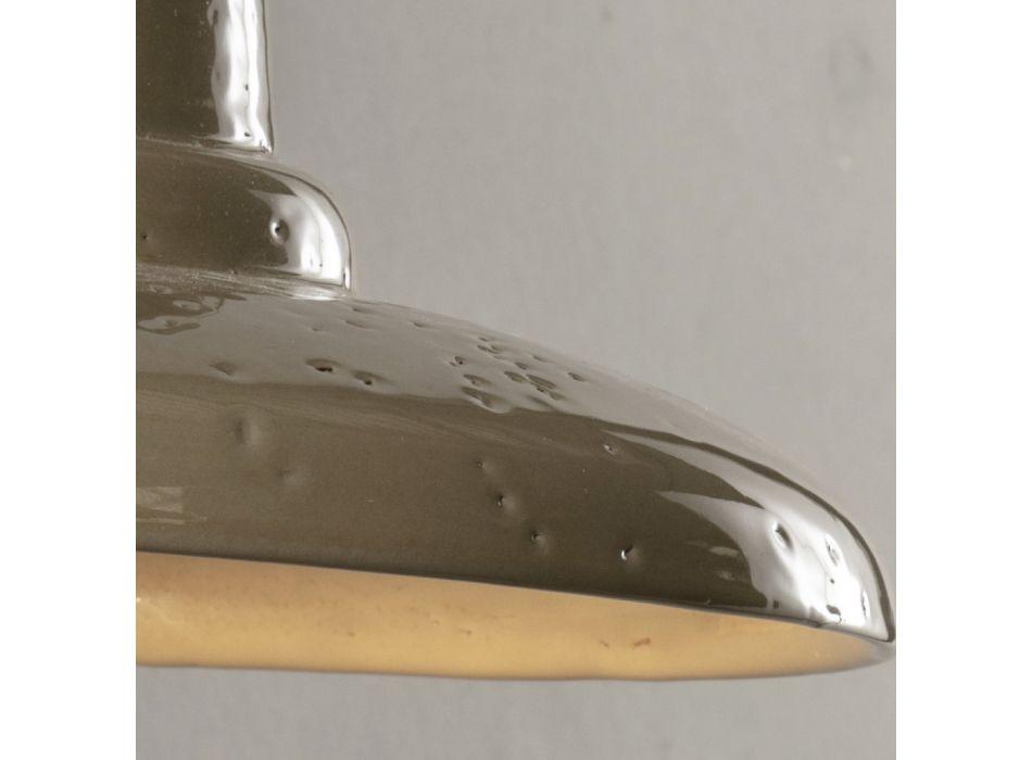 Artisan buitenwandlamp in Galestro Made in Italy - Toscot Spoleto