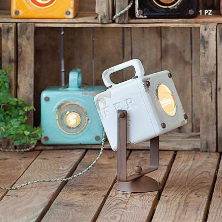 Wandlamp industriële vintage-stijl keramische en ferro Julia