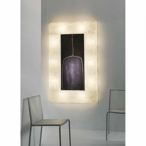 Modern design wandlamp In-es.artdesign Lunar Bottle 2 in nebulite