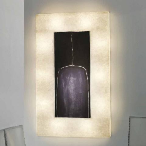 Modern design wandlamp In-es.artdesign Lunar Bottle 2 in nebulite