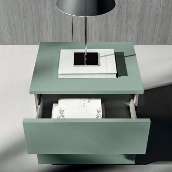 Luxe gemaakt in Italië 5-elementen slaapkamermeubilair - Cristina