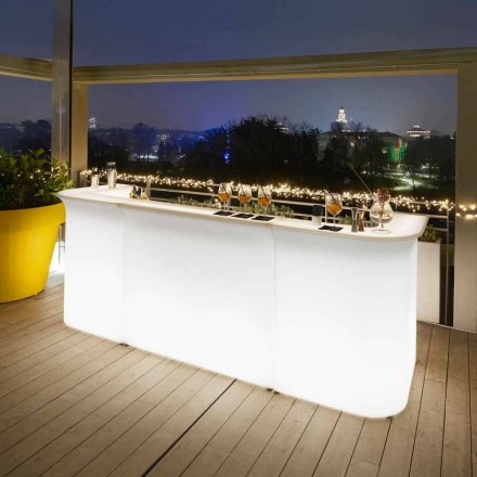 Hedendaags design tuinlamp toog Slide Break Line