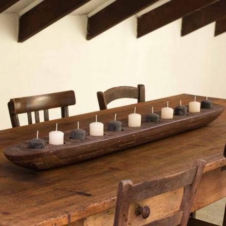 Wasboot met bruine of ivoorkleurige lichten inclusief Made in Italy - Ludvig