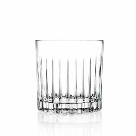 Lowball Tumbler Basso Ouderwetse Glazen voor Cockatil 12 Stuks - Senzatempo