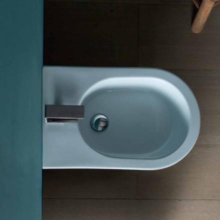 Keramische bidet Zon 57x37cm modern design, made in Italy