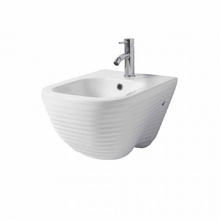 Design hangend bidet in keramiek Made in Italy Trabia