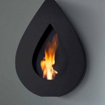 Biocamino Modern Muur bio-ethanol aan Joseph vlam vorm