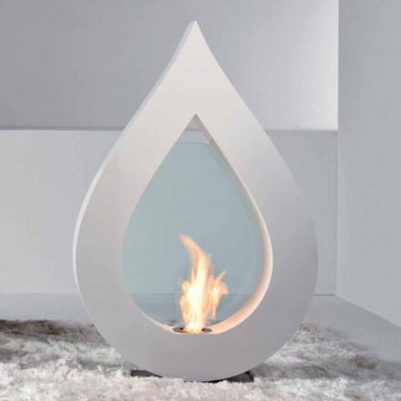 Biocamino van bio-ethanol aarde, flame-vormige modern design Todd