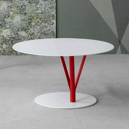Bonaldo Kadou designtafel gelakt staal D70cm made in Italy