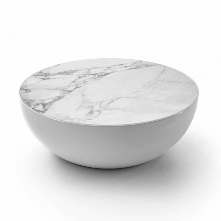 Bonaldo Planet design keramische tafel Calacatta gemaakt in Italië