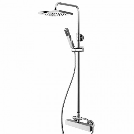 Bossini Shower Column met Cube Column Mixer