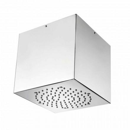 Bossini Cube douchekoppen gecoat staal tot een moderne jet
