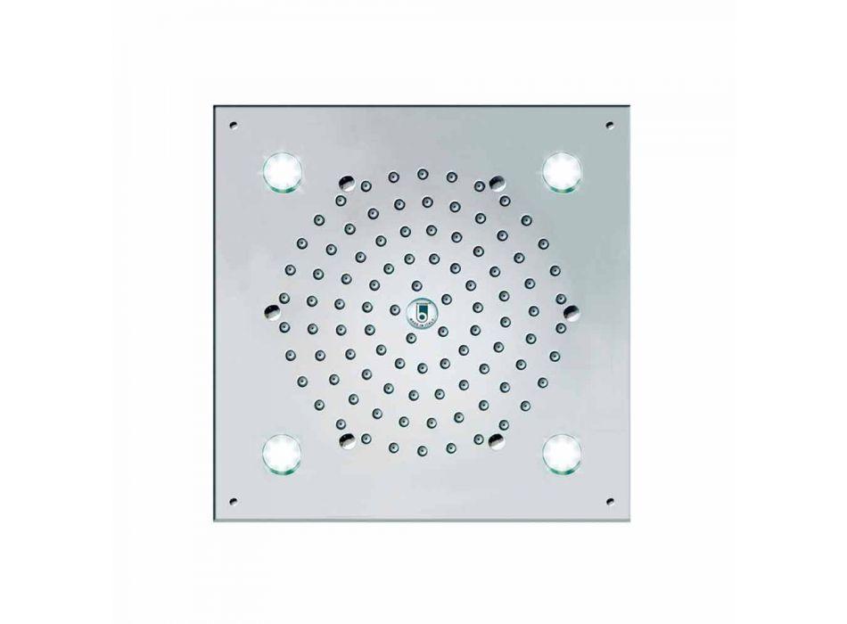 Bossini douchekop Lights 4-Led Cube Light