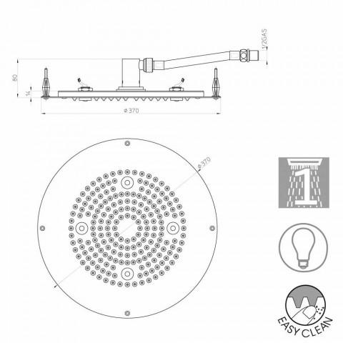Bossini hoofd om een jet met moderne LED-verlichting