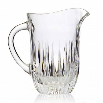 Eco kristallen kan met ambachtelijke decoratie, Italiaanse luxe, 2 stuks - Voglia