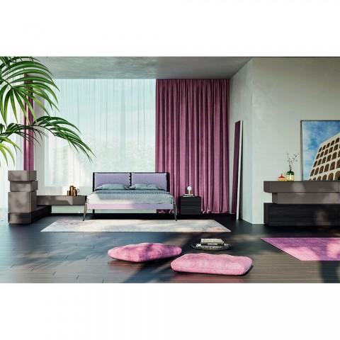 Complete luxe slaapkamer met 6 elementen Made in Italy - Adige
