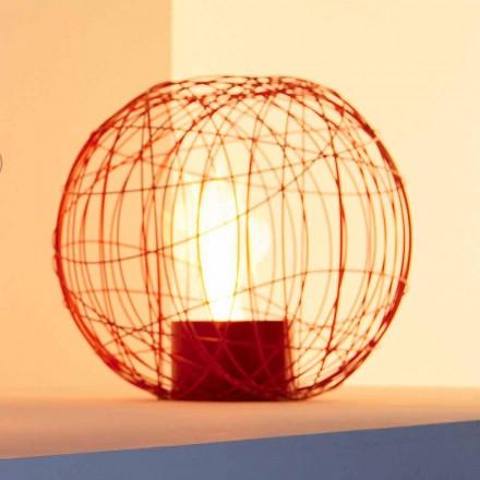 Bio-ethanol haard desktop / geslepen stalen in de vorm van een bol Henry