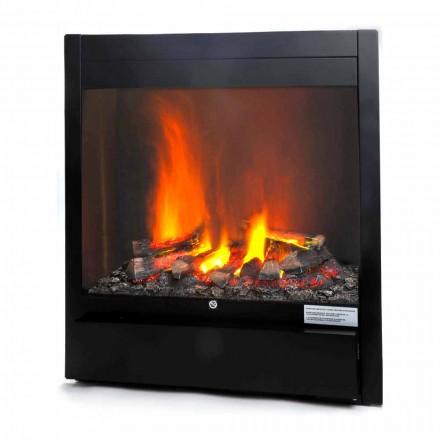 Open haard Electric gratis positionering vlam-rook effect Newport
