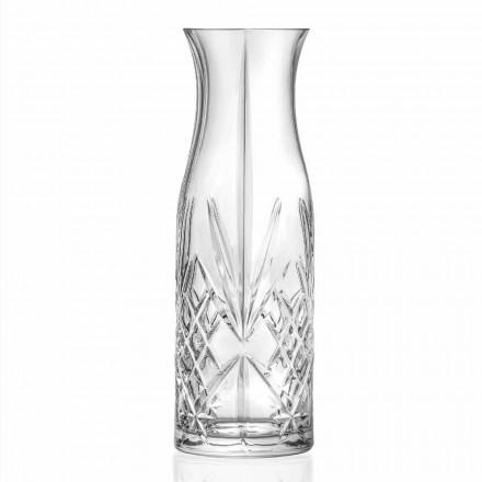 Vintage Design Eco Kristal Water- of Wijnkan 4 Stuks - Cantabile