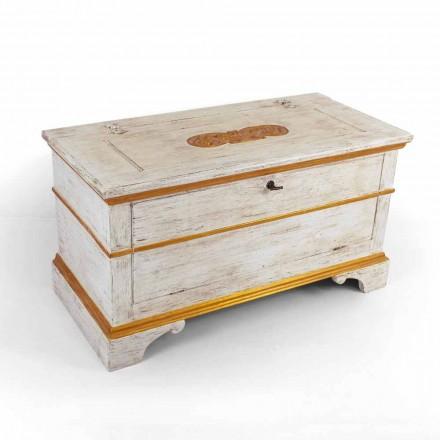 Handgemaakt in massief hout met gouden profielen Made in Italy - Caio