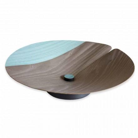 Center Table Fruit Holder Modern in massief hout gemaakt in Italië - Stan