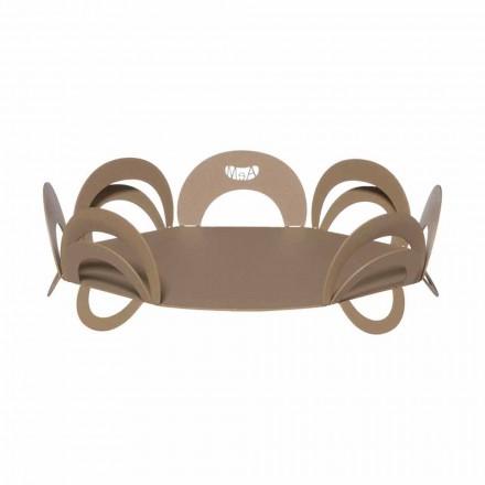 Groot design middelpunt in handgemaakt ijzer, gemaakt in Italië - Futti