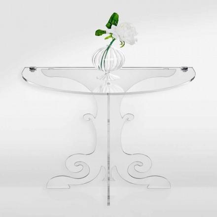 Klassiek design nachtkastje in acrylglas en PMMA, Tiana