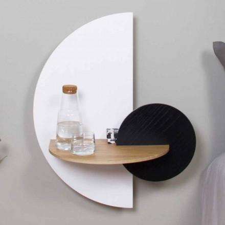 Modern modulair nachtkastje in multiplex Elegant en veelzijdig ontwerp - Ramia