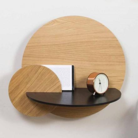 Modulair nachtkastje Elegant ontwerp in multiplex met verborgen compartiment - Bigno