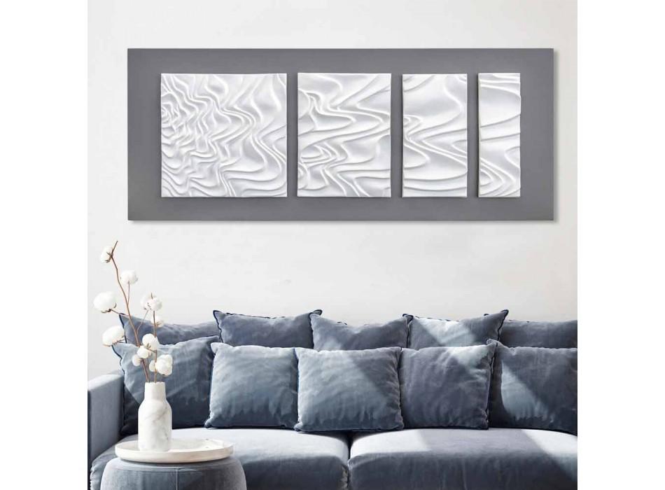 Wandcompositie van designdecoratie in modern abstract keramiek - Verno