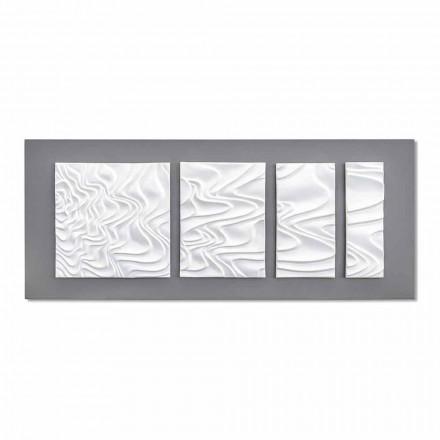Abstract modern design keramische wandcompositie gemaakt in Italië - Verno
